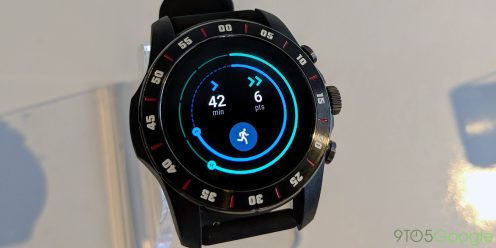 Wear OS hands on