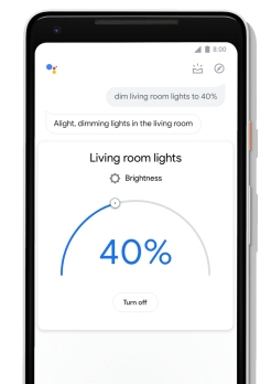 Google Assistant redesign smart home