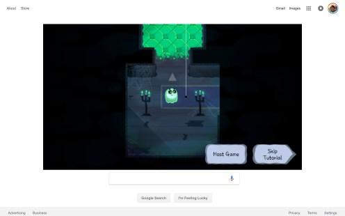 Google Doodle Halloween game