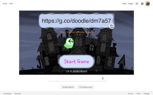 Google celebrates Halloween w/ multiplayer Doodle game ...