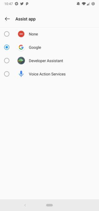 Voice Action Services