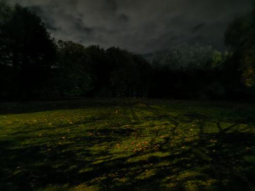 Darkened field - Night Mode