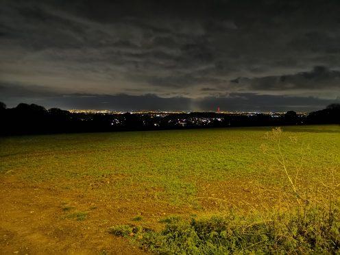 Field view - Night Mode