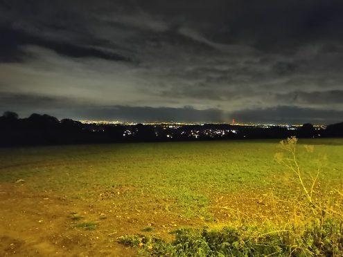 Light field view - Nightscape