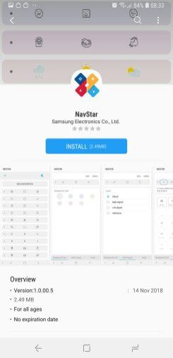 NavStar install plugin