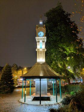 Pixel 3XL - Night Sight - Clock Tower