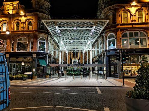 Victoria Quarter - Night Mode