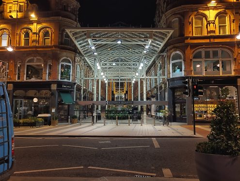 Victoria Quarter - Nightscape