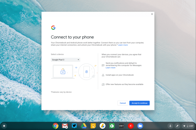 Chrome OS 71 Better Together