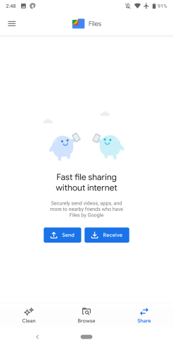 Files Google Material Theme
