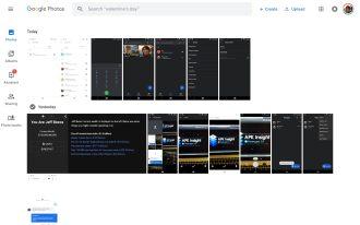 Google Photos Material Theme