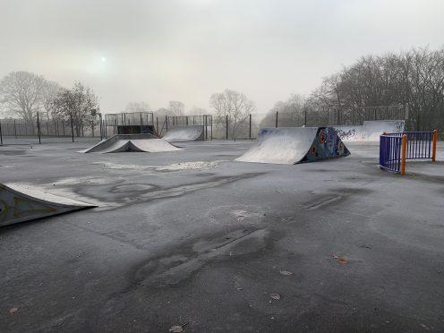 iPhone XR - Skatepark open