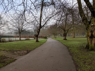 Pixel 3 XL - Park pathway