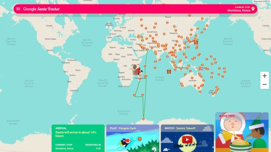 How to track Santa