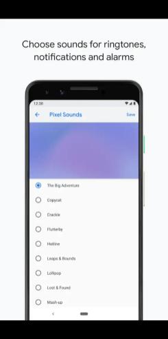 Google Pixel Sounds app