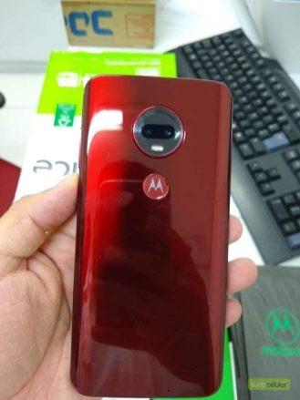Moto G7 Plus Red