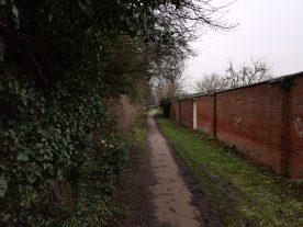 View 20 - Walled lane