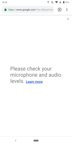Google mobile voice search Chrome Android