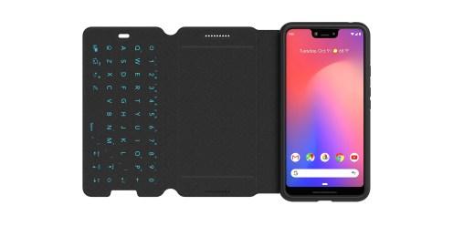 """Tech21 fügt einer mit NFC verbundenen Tastatur ein Pixel 3 XL-Folio-Case mit Evo Type """"Made for Google"""" hinzu"""