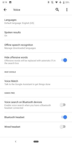 Google app 9.27 Material Theme