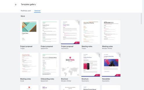 Google Docs Material Theme
