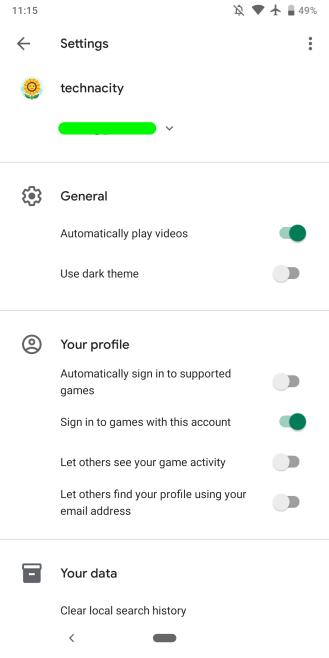 Bei Google Play Games 2019-01 werden Einstellungen mit dem Google Material-Design neu gestaltet. [APK Insight]