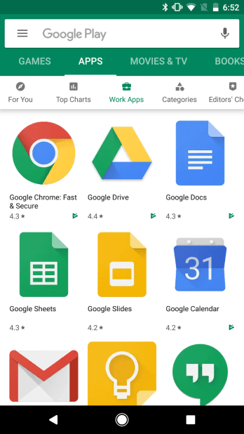 google-play-store-work-apps