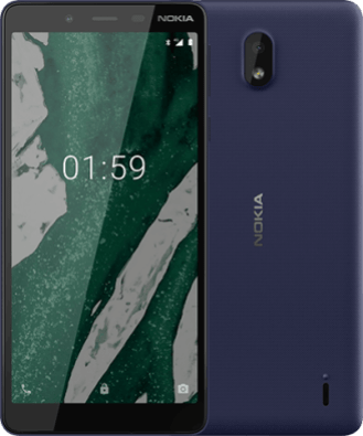 nokia 1 plus blue