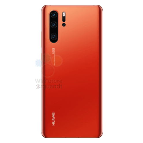 Huawei P30 Pro Sunrise red option