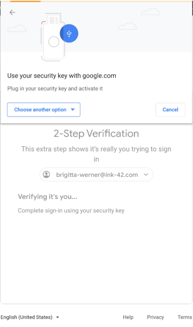 Google 2-Step Verification now relies on browsers to guide