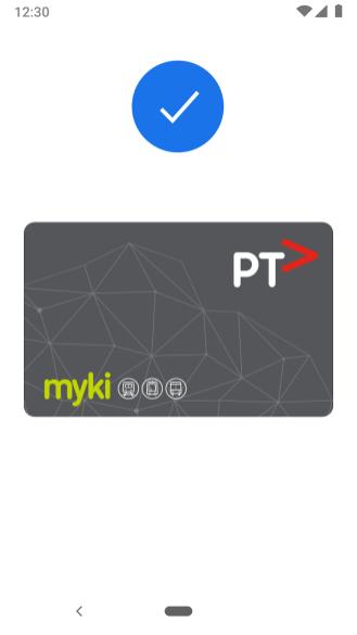 Google Pay transit Australia