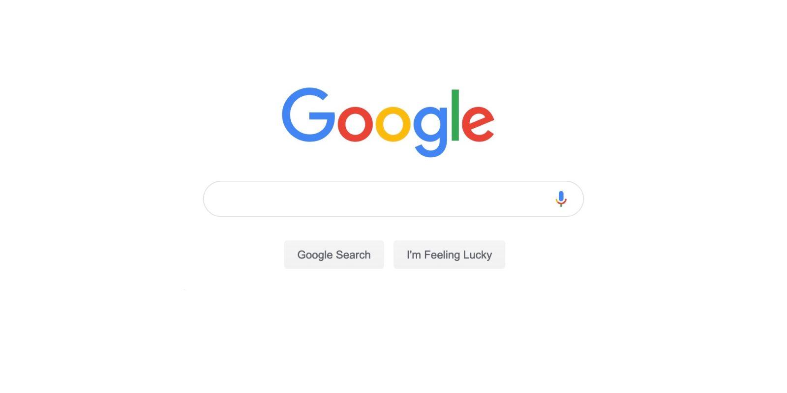 Google.com Adds Material Theme Search Bar On Desktop Web