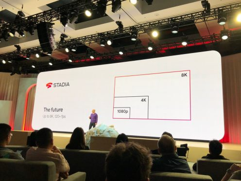 Google Stadia resolution