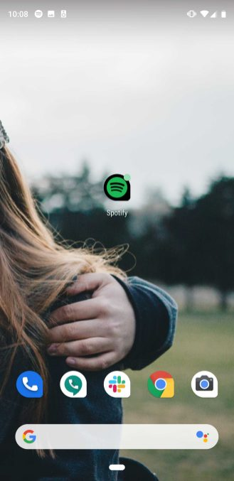 spotify adaptive icon