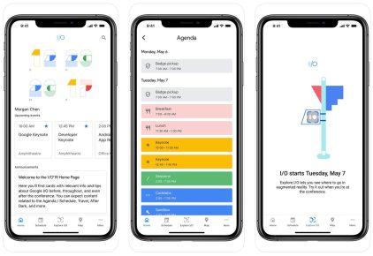 Google I/O iOS