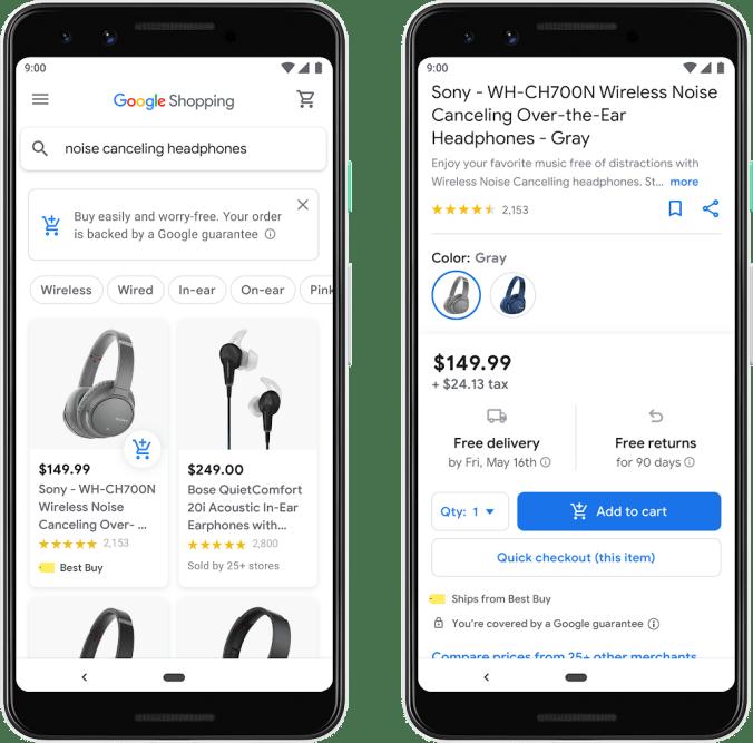 New Google Shopping