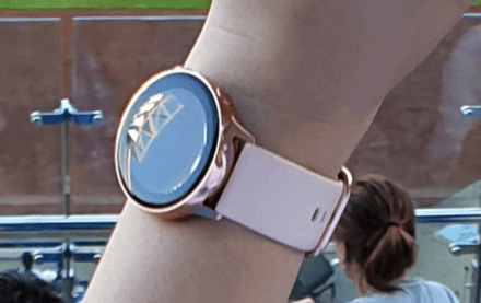 Galaxy Watch Active hands-on leaked image