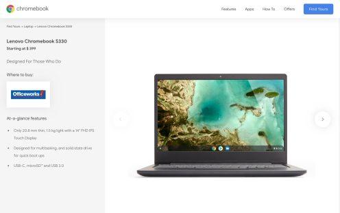 Google Chromebooks Australia