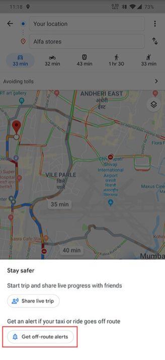 google maps taxi alerts (2)