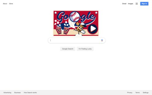 Google Fourth of July Doodle