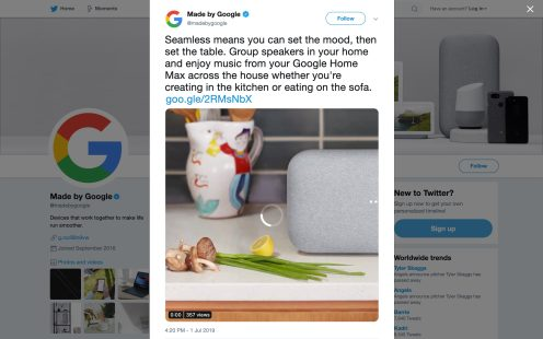 google-nest-home-max-tweet-new