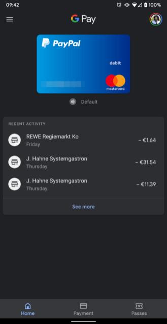 Google Pay Dark Theme 1