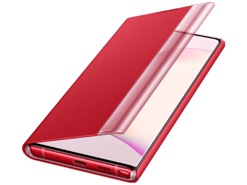 galaxy note 10 red view cover