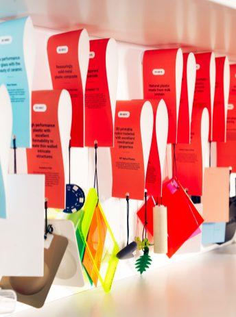 google design lab materials labels