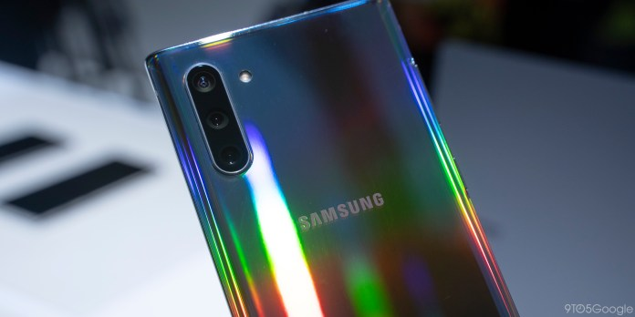 Samsung Galaxy Note 10 Hands On Aura And Iteration 9to5google