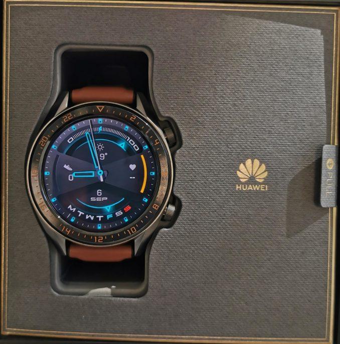 Huawei Watch GT 2 live image leak