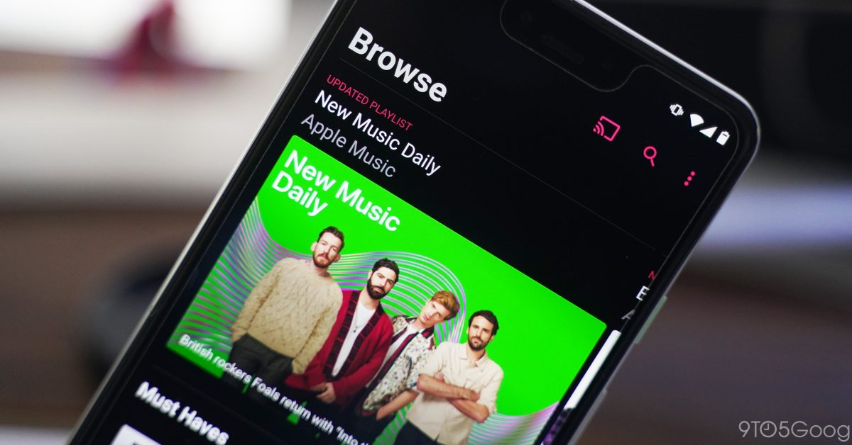 Apple Music for Android preps for lossless audio streaming - 9to5Google