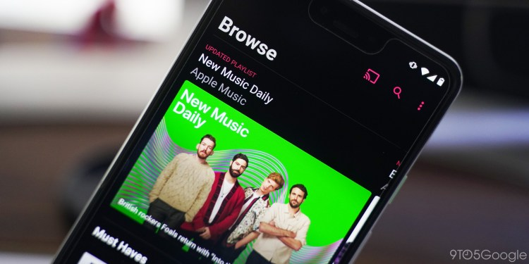 apple music chromecast android dark mode - google play music alternatives