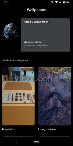 Download Google Wallpapers dark