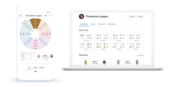 Google News now shows Champions League highlights - 9to5Google
